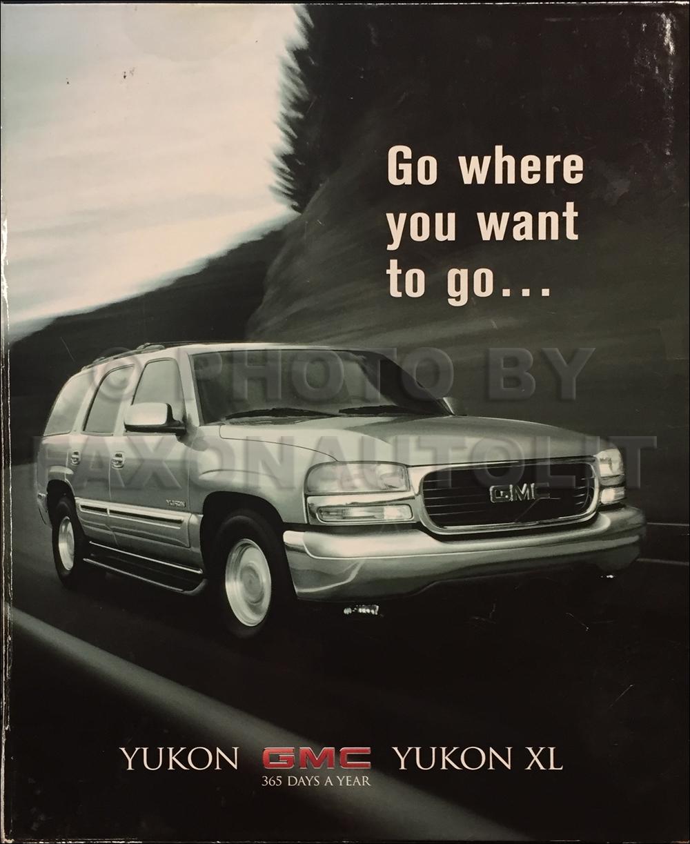 2000 GMC Yukon Dealer Launch Kit Original Canadian