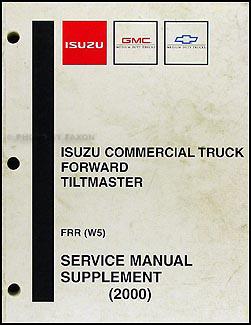 2000 2001 frr w5 tiltmaster repair shop manual original. Black Bedroom Furniture Sets. Home Design Ideas