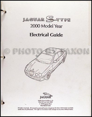 2000 jaguar s type electrical guide wiring diagram rh faxonautoliterature com 2000 Jaguar S-Type Problems 2000 jaguar s type fuel pump wiring diagram
