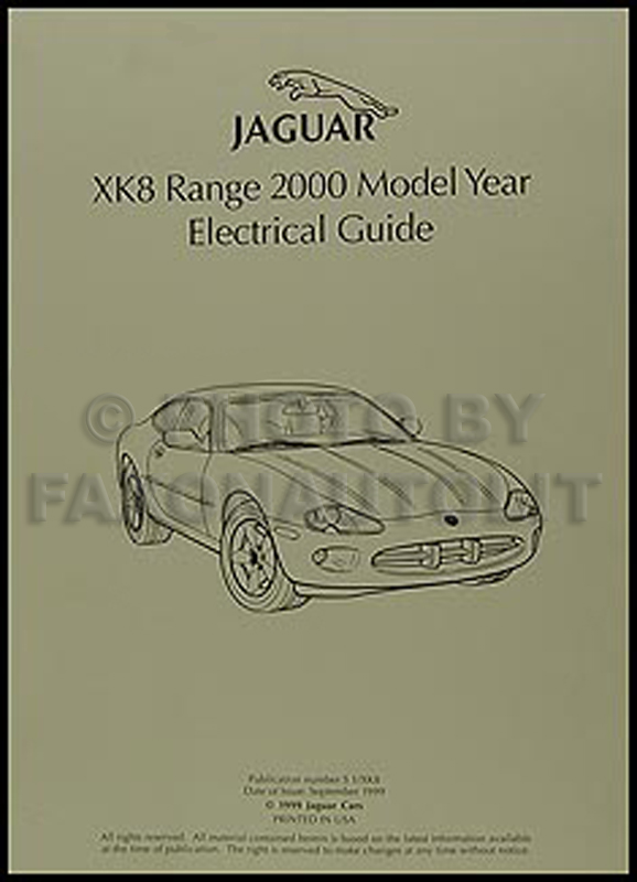 2000 jaguar xk8 electrical guide wiring diagram original jaguar xke wiring-diagram jaguar wiring diagram 2000 #30
