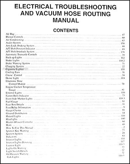 2000 kia sephia electrical troubleshooting manual original. Black Bedroom Furniture Sets. Home Design Ideas