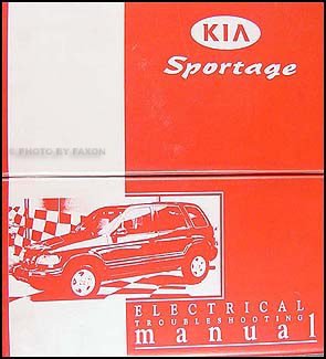 1999 2000 kia sportage electrical troubleshooting manual original rh faxonautoliterature com kia sportage 1999 owners manual kia sportage 1999 repair manual