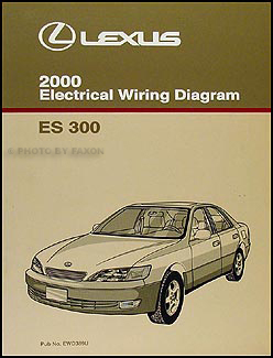 2000 lexus es 300 wiring diagram manual original. Black Bedroom Furniture Sets. Home Design Ideas
