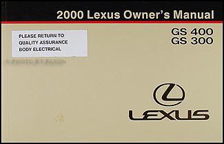 2000 lexus gs 300 fuse diagram 2000 lexus ls 400 gs 400 gs 300 navigation system owners