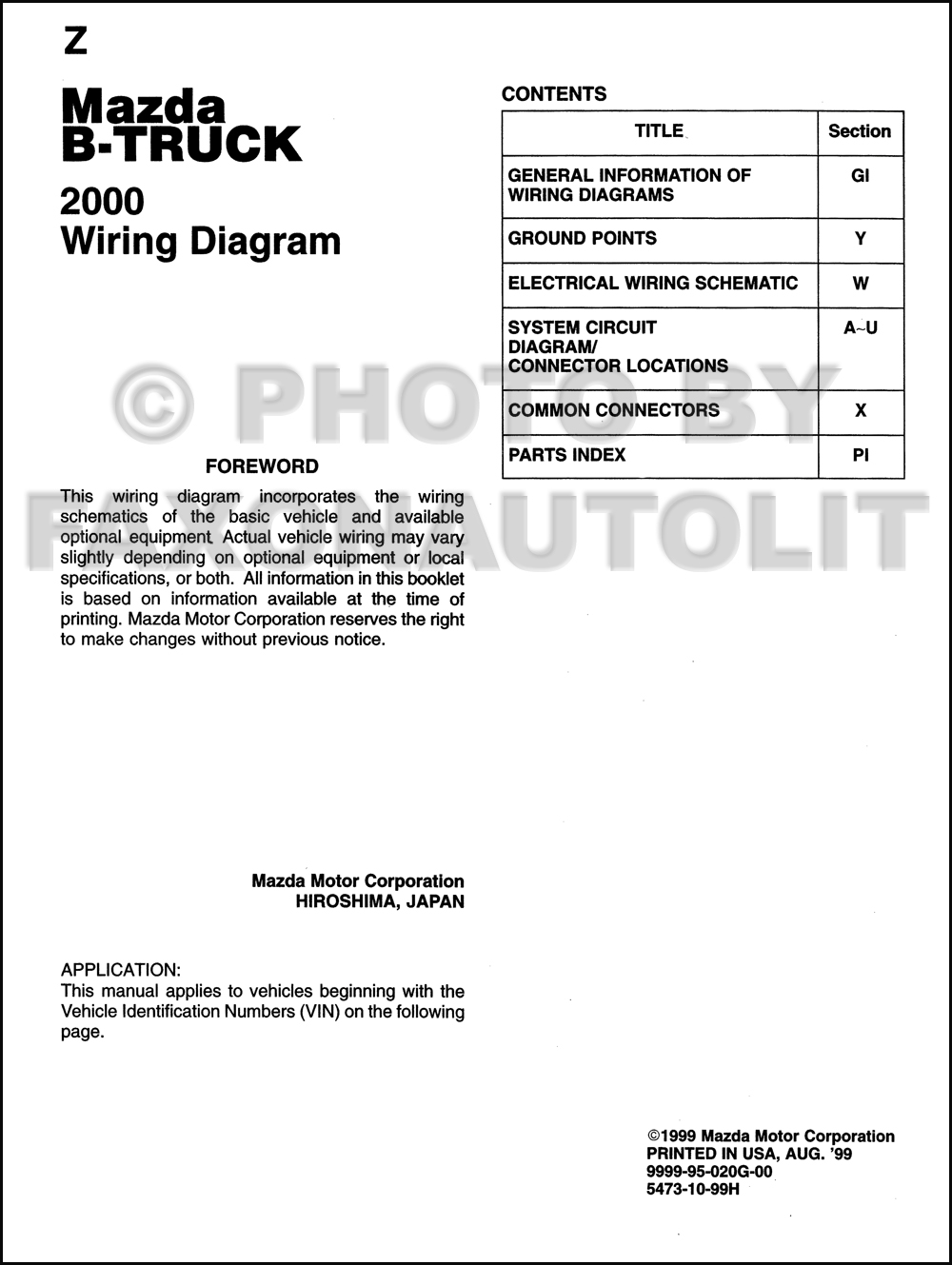 2000 mazda b series pickup truck wiring diagram manual 2000 mazda b3000 wiring diagram 2000 mazda b3000 wiring diagram 2000 mazda b3000 wiring diagram 2000 mazda b3000 wiring diagram