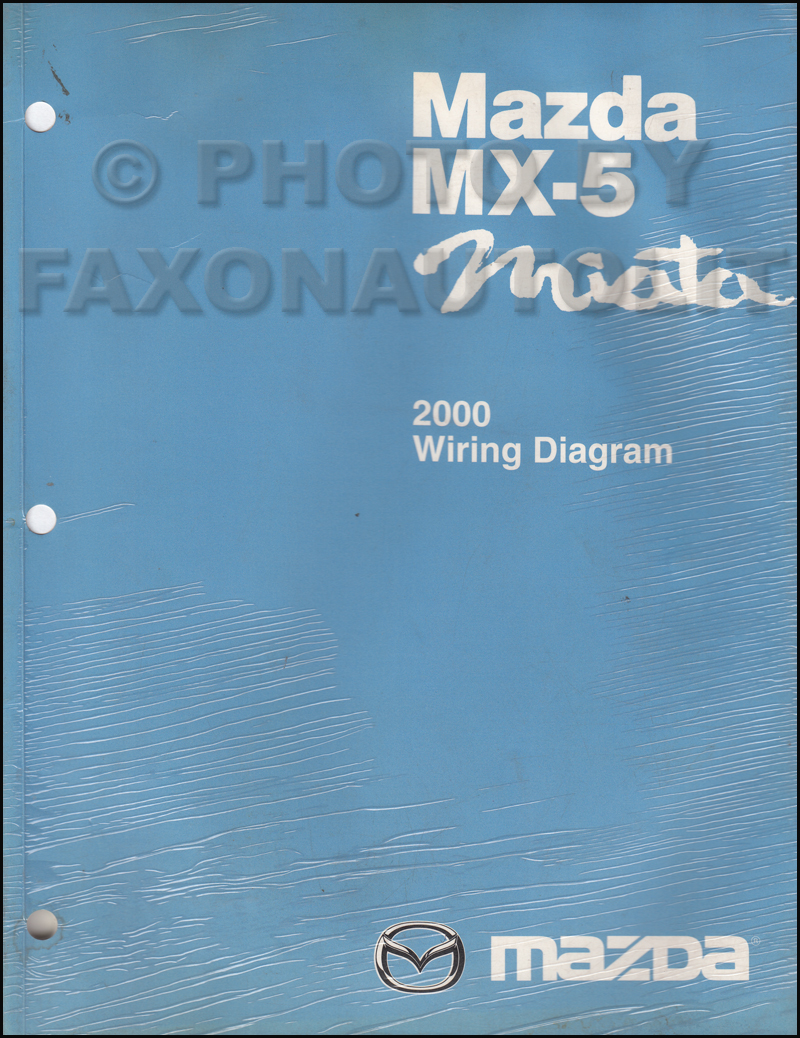 2000 Mazda Miata Wiring Diagram - Product Wiring Diagrams •