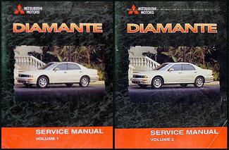 2000 mitsubishi diamante repair shop manual set original rh faxonautoliterature com mitsubishi diamante 1997 manual mitsubishi diamante manual transmission