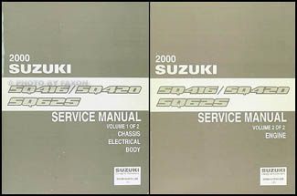 2000 suzuki vitara grand vitara repair shop manual set original rh faxonautoliterature com suzuki grand vitara workshop manual free download 2009 suzuki grand vitara repair manual