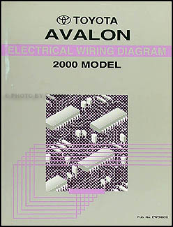 2000ToyotaAvalonWD 2000 toyota avalon wiring diagram manual original 2000 toyota avalon wiring diagram at virtualis.co