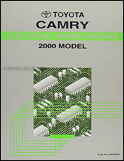 2000 toyota camry electrical wiring diagram manual original oem 2000 toyota camry electrical wiring diagram manual original oem schematics