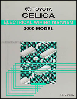 2000 toyota celica wiring diagram manual original rh faxonautoliterature com toyota yaris headlight wiring diagram