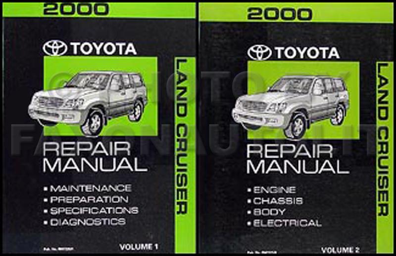 2000 toyota land cruiser repair shop manual original set van wiring diagram 2000 toyota land cruiser