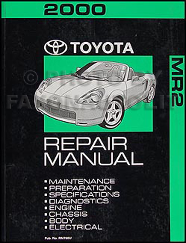 search rh faxonautoliterature com 1988 Toyota MR2 1991 Toyota MR2