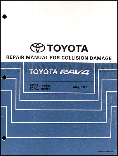 2004 toyota rav4 wiring diagram manual original 2001 2005 toyota rav4 body collision repair shop manual original