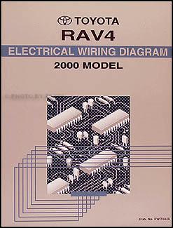 2000 toyota rav4 wiring diagram manual original rh faxonautoliterature com