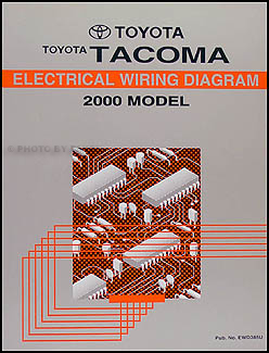 2000ToyotaTacomaWD 2000 toyota tacoma pickup wiring diagram manual original 2000 toyota tacoma wiring diagram at bayanpartner.co