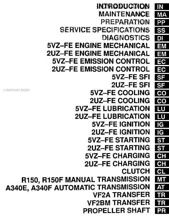 2000 toyota tundra repair shop manual original 2 volume set rh faxonautoliterature com 2006 tundra factory service manual 2006 tundra factory service manual