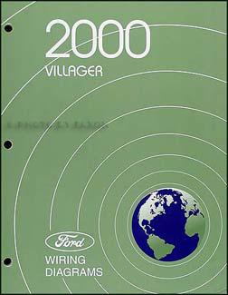 2000 mercury villager wiring diagram manual original. Black Bedroom Furniture Sets. Home Design Ideas