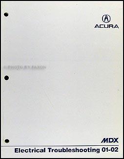 2001 2002 acura mdx electrical troubleshooting manual original rh faxonautoliterature com 2002 acura mdx service manual pdf 2002 acura mdx repair manual pdf