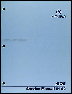 2001 2002 acura mdx repair shop manual original rh faxonautoliterature com 2001 acura mdx manually lock tailgate acura mdx 2001 repair manual