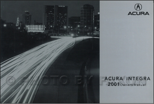 1998-2001 Acura Integra Electrical Troubleshooting Manual