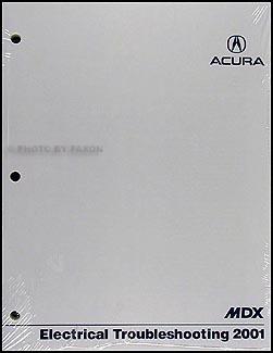 2001 acura mdx manual