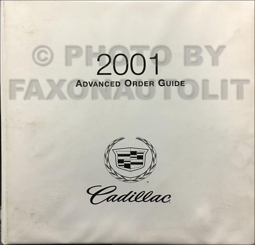 2001 Cadillac Catera Wiring Diagram Original