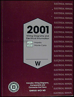 2001 impala and monte carlo wiring diagram original
