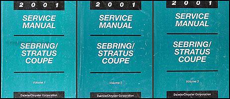 01 02 chrysler dodge sebring stratus service repair manual