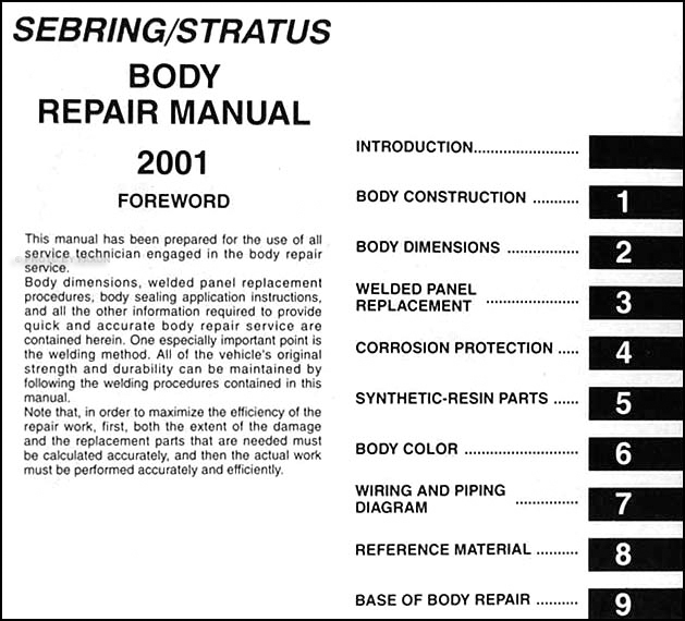 chrysler sebring lxi coupe repair manual various owner manual guide u2022 rh justk co dodge stratus owners manual 2004 dodge stratus repair manual pdf
