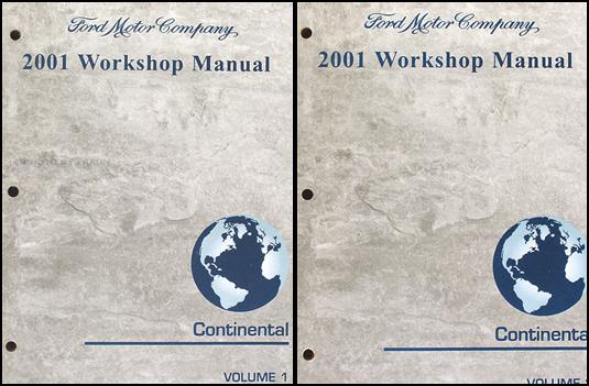 2001 lincoln continental repair shop manual original 2. Black Bedroom Furniture Sets. Home Design Ideas