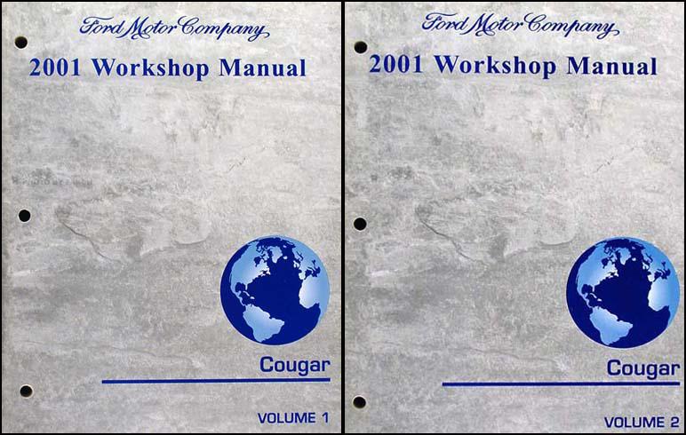 2001 mercury cougar wiring diagram manual original 2001 mercury cougar repair shop manual 2 volume set original