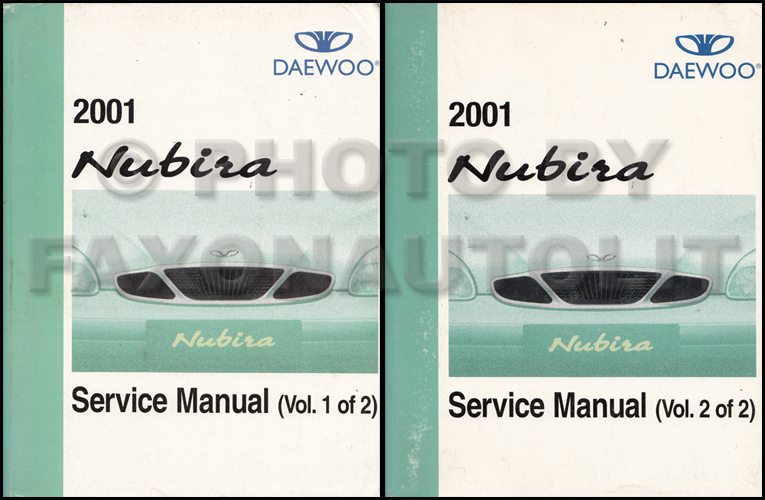 2001 daewoo nubira repair shop manual original 2 volume set rh faxonautoliterature com 2002 daewoo leganza owners manual 2000 Daewoo Leganza