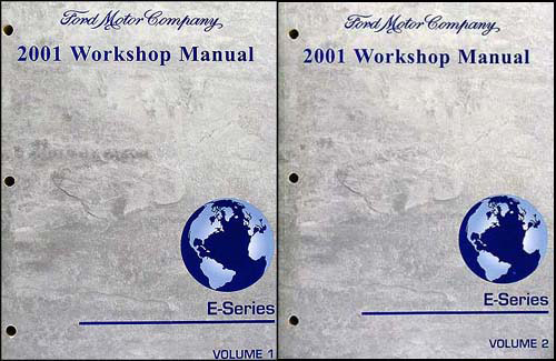 Search 2001 ford econoline van and club wagon repair shop manual set of 2 original publicscrutiny Image collections