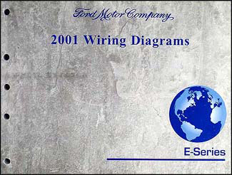 2001E SeriesWD 2001 ford econoline van & club wagon wiring diagram manual original 2000 ford econoline van wiring diagram at mifinder.co