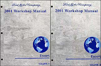 2001 ford escort and zx 2 repair shop manual 2 volume set original rh faxonautoliterature com Explorer Sport Trac 2005 Ford FX4 2001 Ford Atlantic Blue Pearl Paint