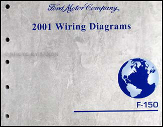 2001 Ford F-150 Wiring Diagram Manual Original