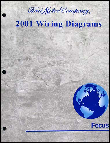 2001FocusWD 2001 ford focus wiring diagram manual original 01 ford focus wiring diagram at bayanpartner.co
