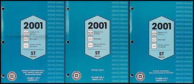 2001 s 10 sonoma jimmy envoy blazer bravada xtreme repair shop rh faxonautoliterature com 2000 S10 2001 S10 Recalls