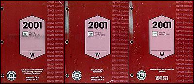 2001 impala and monte carlo wiring diagram original. Black Bedroom Furniture Sets. Home Design Ideas