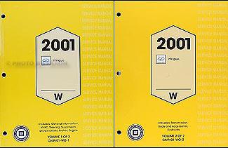 2001 oldsmobile intrigue repair shop manual original 2. Black Bedroom Furniture Sets. Home Design Ideas