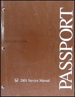 2001 honda passport repair shop manual original rh faxonautoliterature com 2010 Honda Passport 2000 Honda Passport