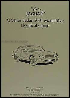 2001 Jaguar XJ8 and XJR Electrical Guide Wiring Diagram