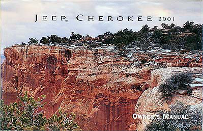 2001 jeep cherokee owners manual pdf