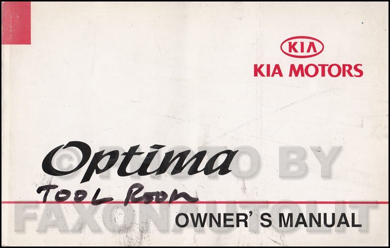 2001 kia optima fuel system repair shop manual supplement. Black Bedroom Furniture Sets. Home Design Ideas