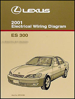2001 lexus es300 engine diagram 2001 lexus es 300 wiring diagram manual new original ...