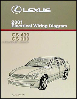 2001LexusGSEWD 2001 lexus gs 300 & gs 430 wiring diagram manual original Kubota Electrical Wiring Diagram at crackthecode.co