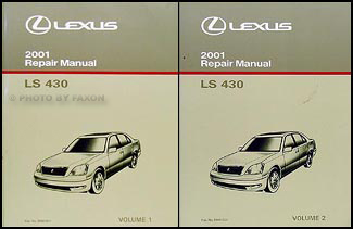 Search 2001 lexus ls 430 repair manual original 2 volume set sciox Gallery
