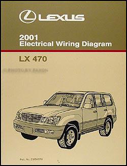 2001 lexus lx 470 wiring diagram manual original, Wiring diagram