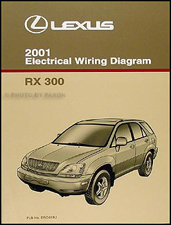 2001 lexus rx 300 wiring diagram manual original rh faxonautoliterature com RX300 Transmission Problems Used Car Lexus RX300